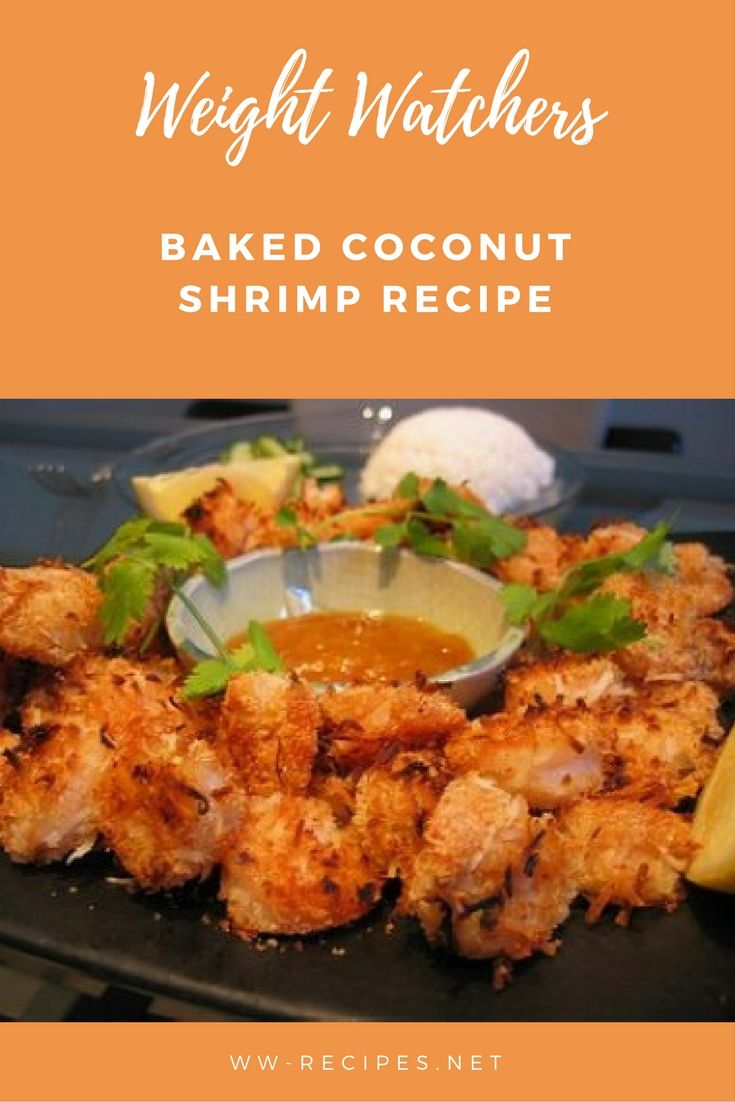 Photo of Weight Watchers Baked Coconut Shrimp Recipe • WW Recipes