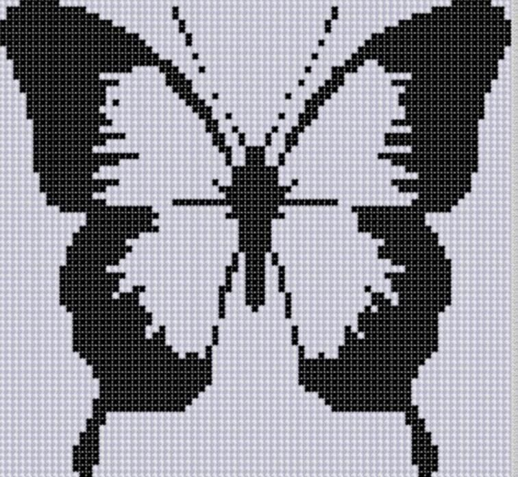 Butterfly 22 Cross Stitch Pattern | Maria | Cross stitch patterns ...