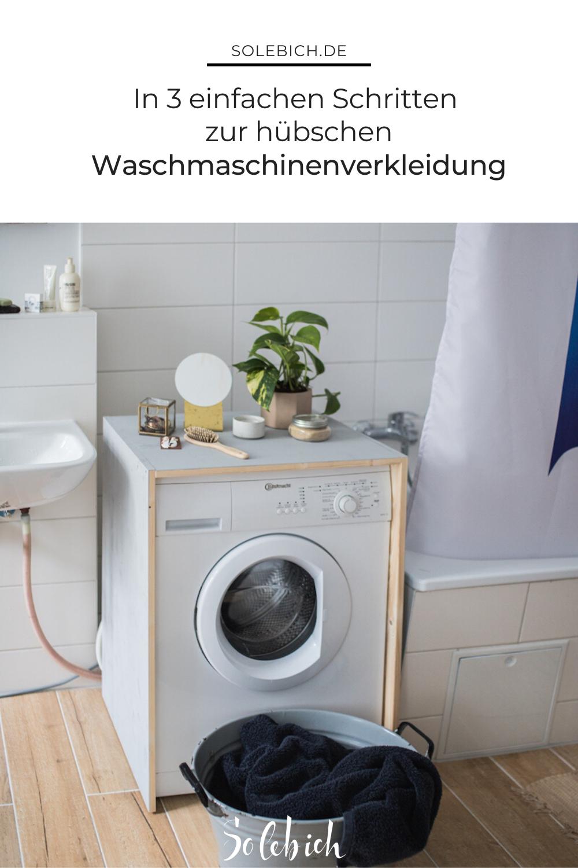 Diy Waschmaschinenverkleidung Von Doitbutdoitnow In 2020 Alte Wohnungen Waschmaschine Neues Bad