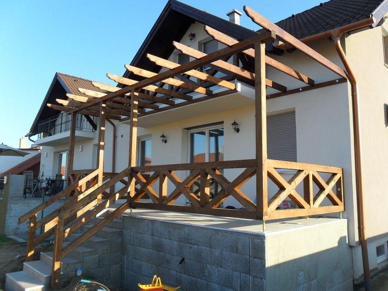 Pergóla és korlátok építése Dunakeszin