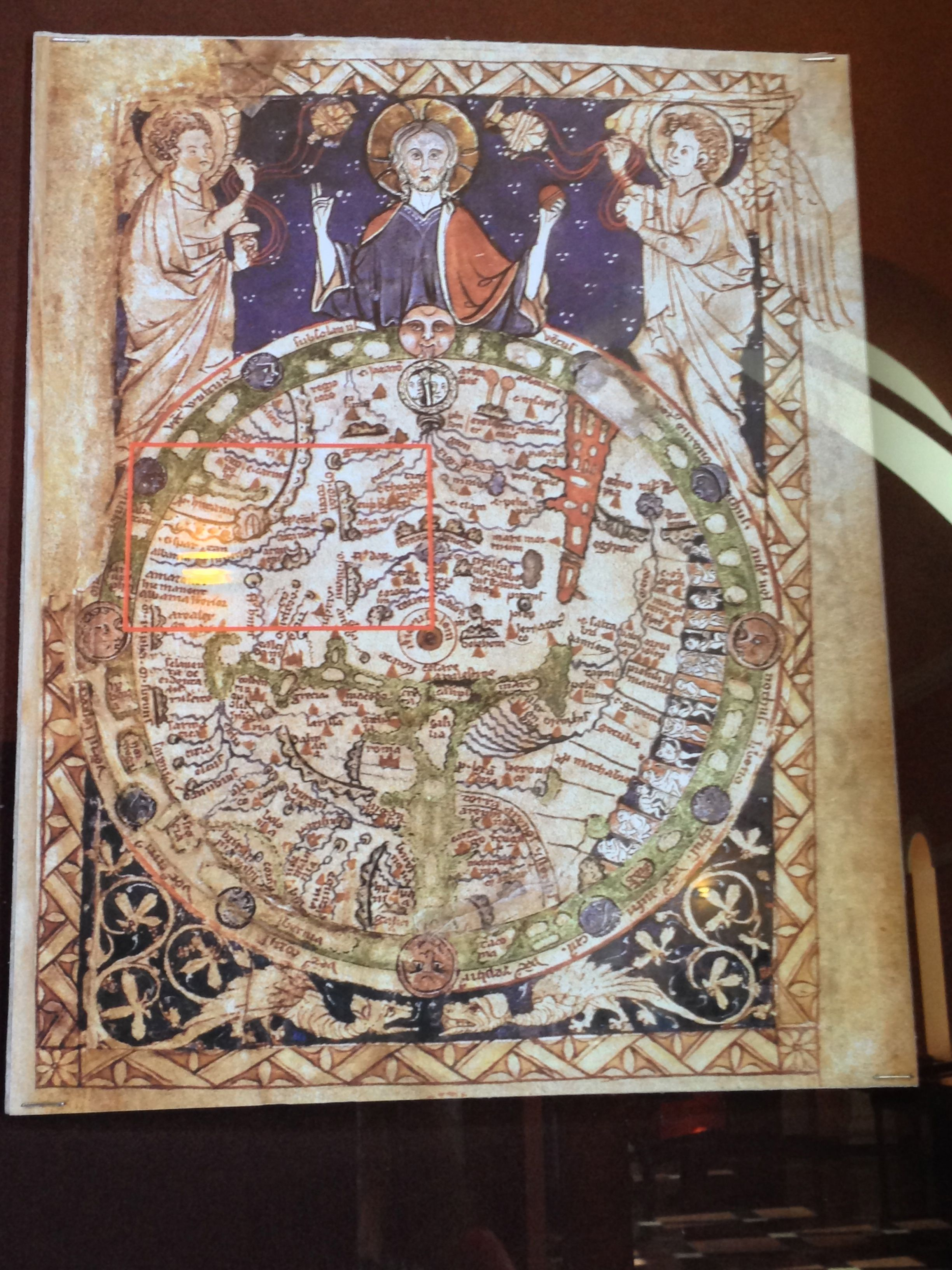 Old Map Of The World In Yerevan From My Trip With Http Flotours Com Mappa Mundi Old Map Arm Art
