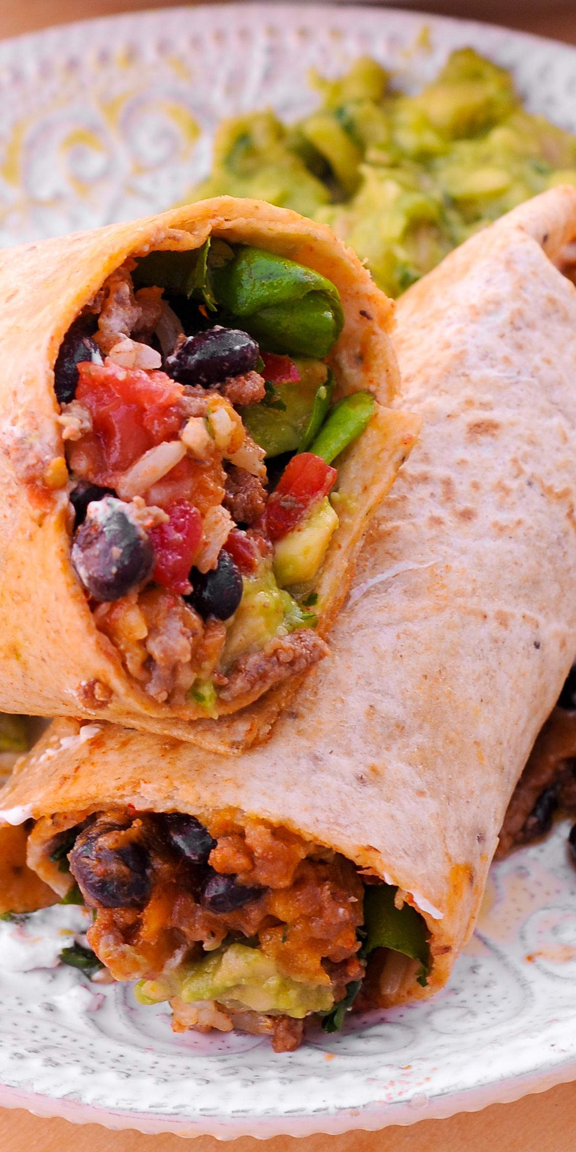 All Time Favorite Beef Burrito In 2020 Burritos Recipe Beef Burrito Recipe Recipes