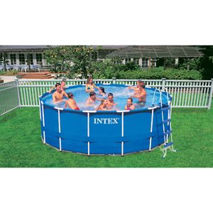 Intex 15 39 X 48 Metal Frame Swimming Pool Wal Mart 249 Online Only Jayden Pinterest