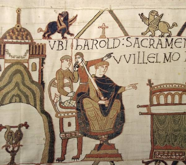 Lions Communication And Information Sector S Photobank Bayeaux Tapestry Medieval Embroidery Bayeux Tapestry