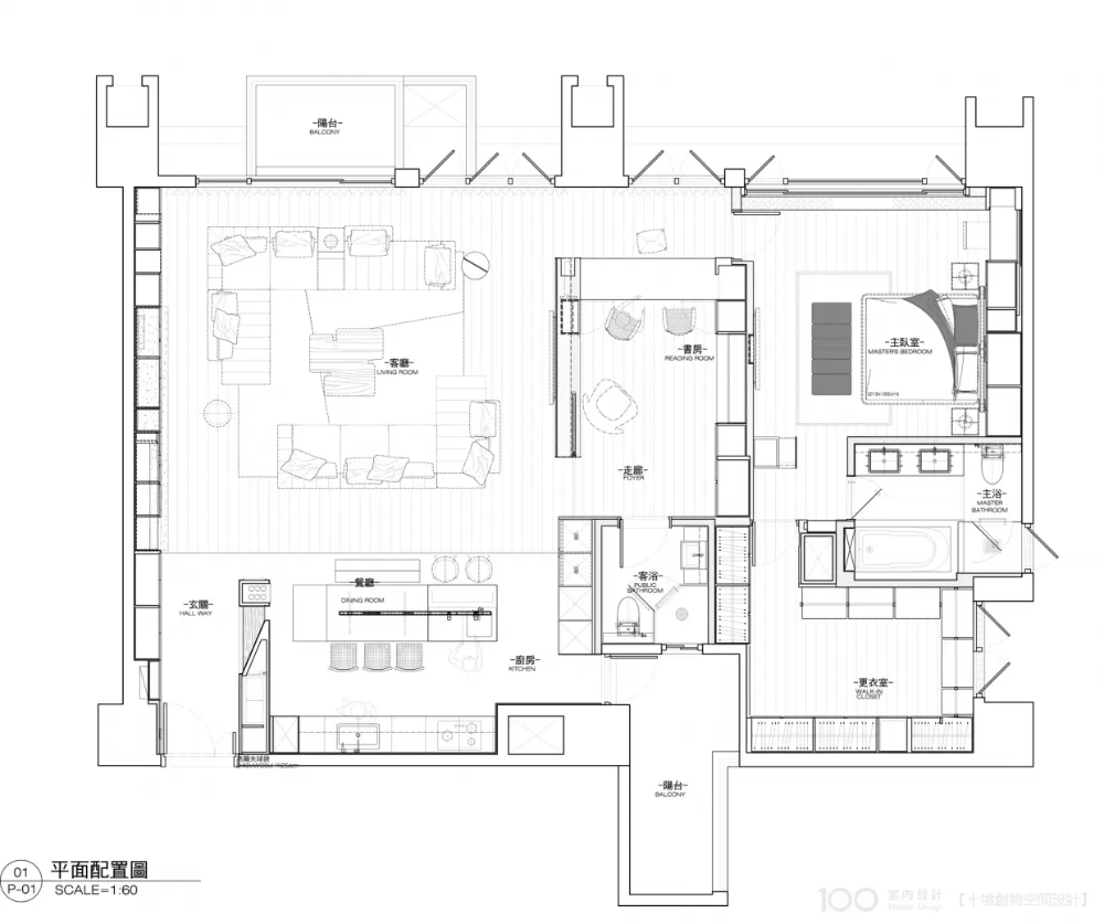 100室內設計 Interior Floor Plan Interior Design Layout Plan Design