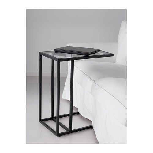 Ikea Vittsjo Laptop Stand Also In Red Frame Product Dimensions Depth 21 5 8 Height 25 5 8 Width 13 3 4 Stijlvolle Woonkamers Interieur Bank Tafeltje