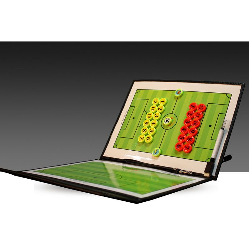 Maicca Magnetic Soccer Coach Board Folding Football Coaching Tactics Tactical Plate Book Set With Pen Clipboard Wholesale I Soccer Coaching Sport Soccer Soccer