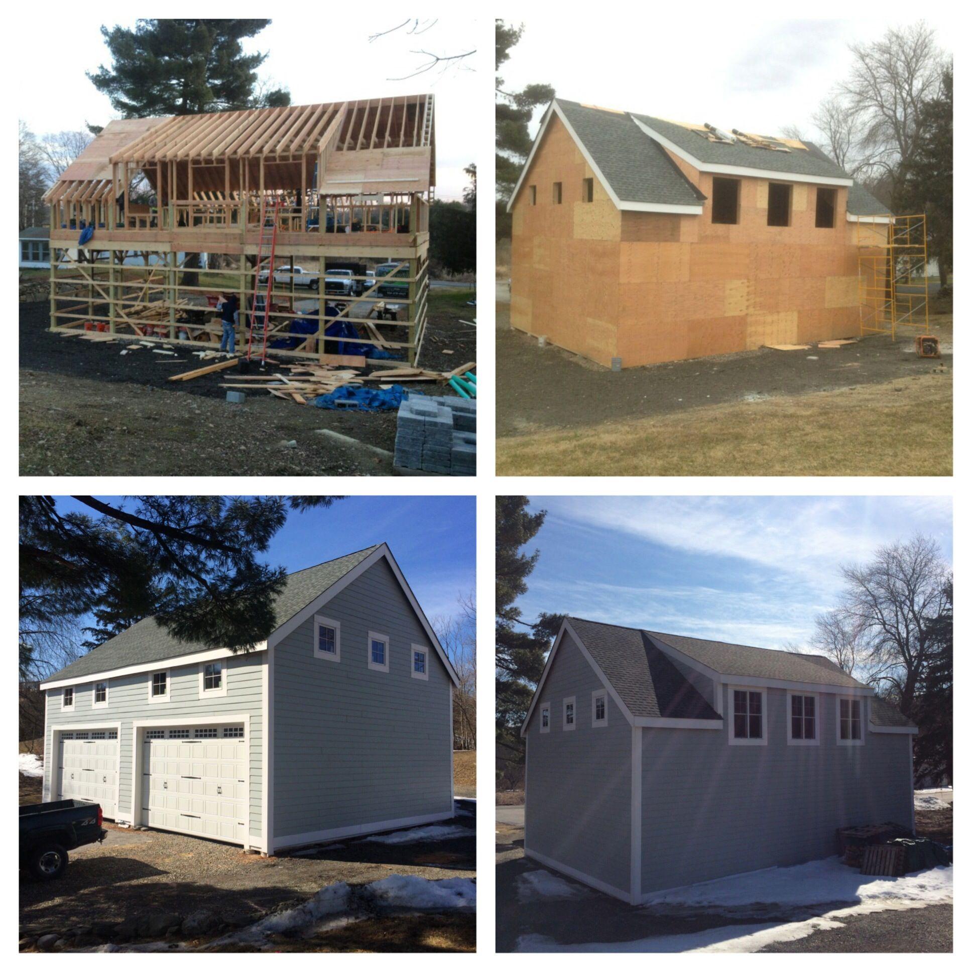 Full barn construction in Lagrangeville, NY
