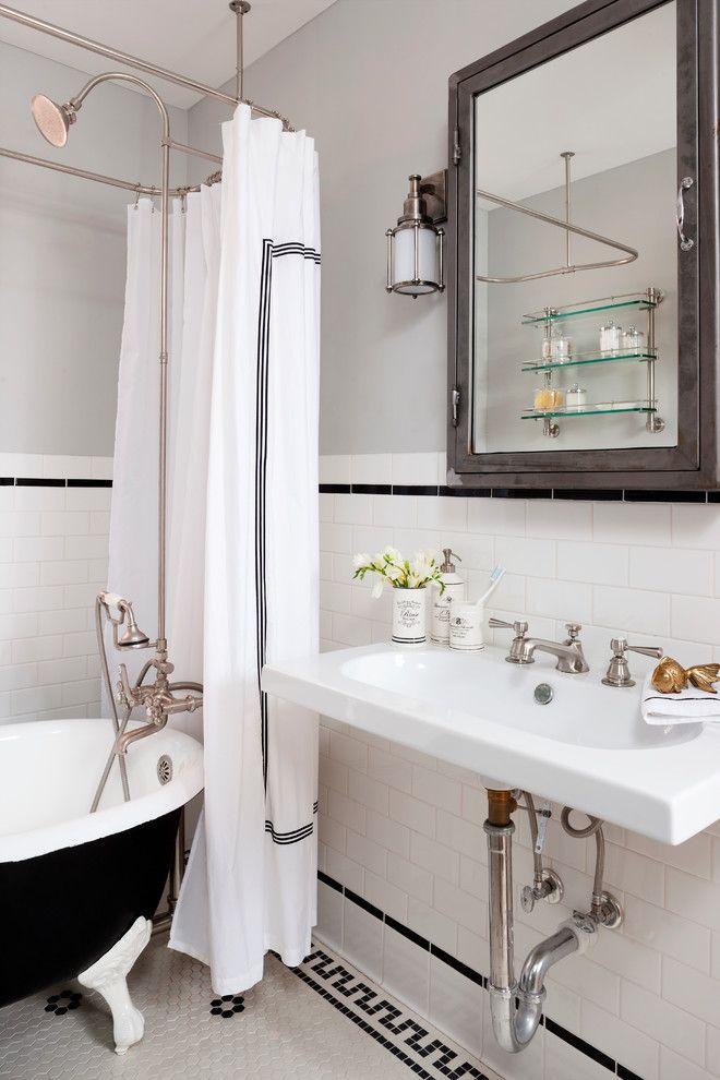 Clawfoot Tub Bathroom Designs Pretty Clawfoot Tub Look Dc Metro Eclectic Bathroom Innovative