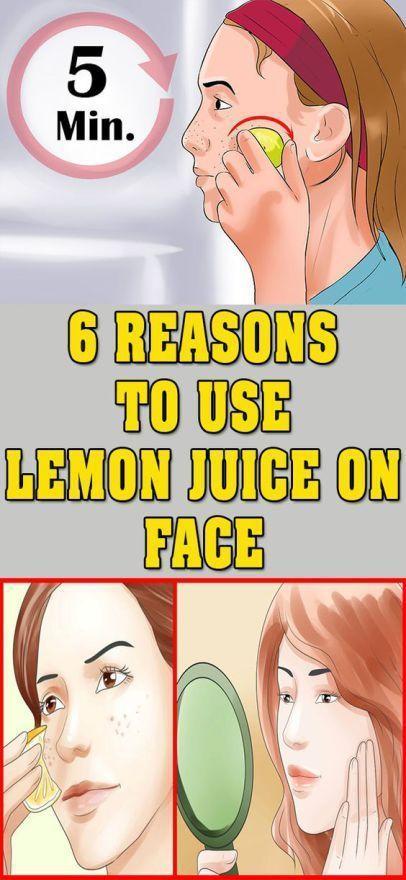 ¡Aquí hay 6 razones para usar jugo de limón en la cara! # lifehacks #fitness-#fitness #lifehacks #li...