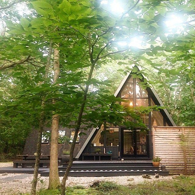Modern, Nice Balance, Skylights, Black & Wood