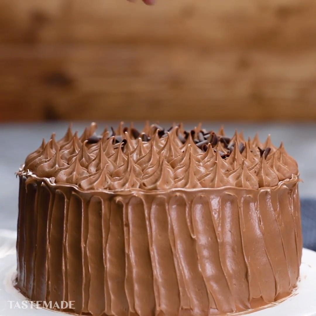 Sara Lee-Inspired Chocolate Gateau