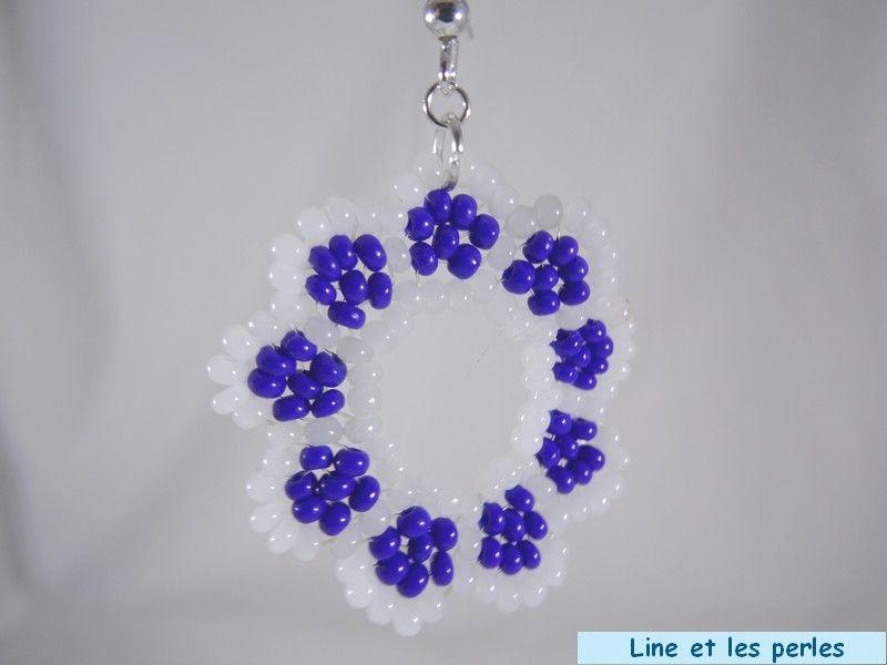 Rosace bleue