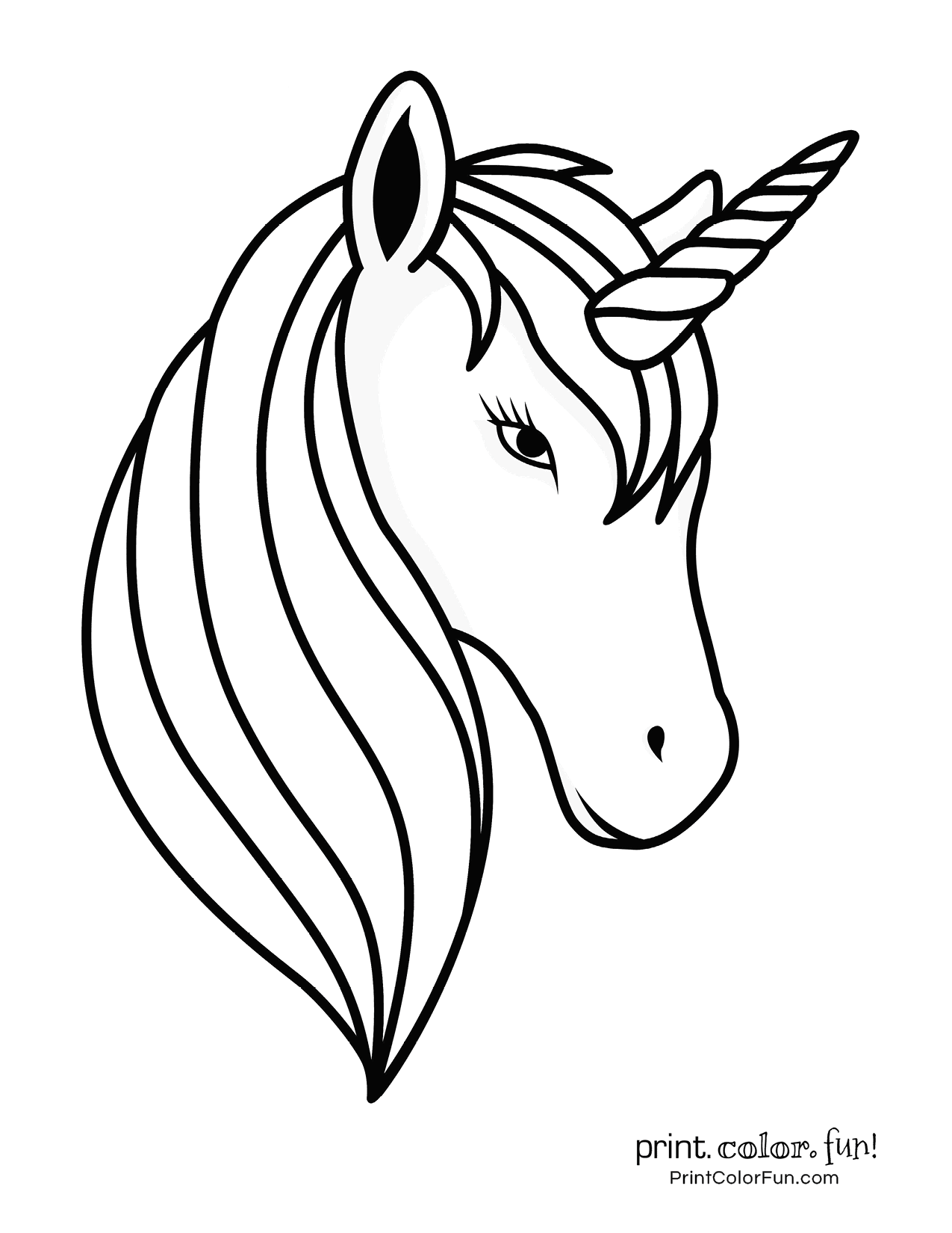 100 Magical Unicorn Coloring Pages The Ultimate Free Printable Collection At Print Color Fun Com C Unicorn Coloring Pages Coloring Pages Unicorn Images