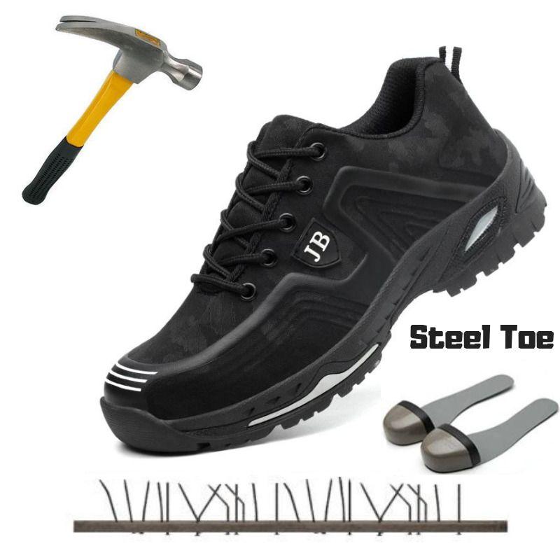 Work shoes, Steel toe