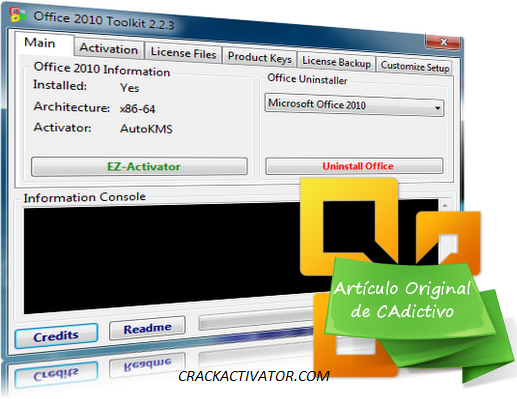 microsoft office toolkit 2010 activator