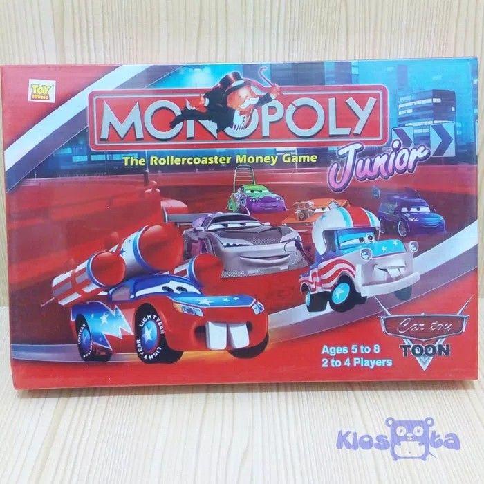 mainan anak monopoly cars lightning mcqueen. wa kami di