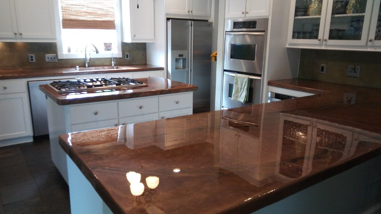 Metalic Epoxy Countertop Coatings - Houston TX ...
