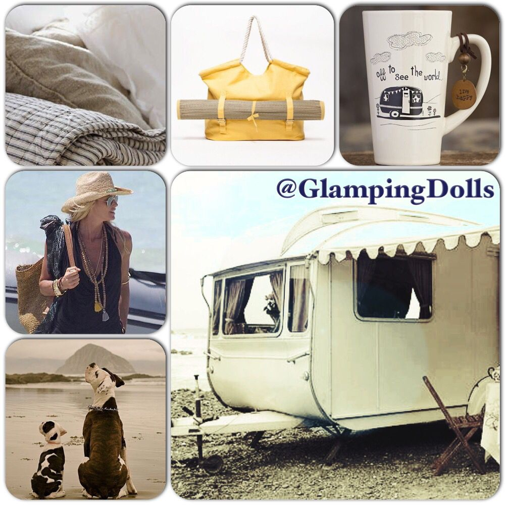 Neutral and ticking linens, some kitsch, beach gear, basics and your doggies what more can a girl ask for.