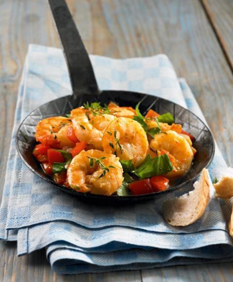 Photo of Mediterranean shrimp pan recipe