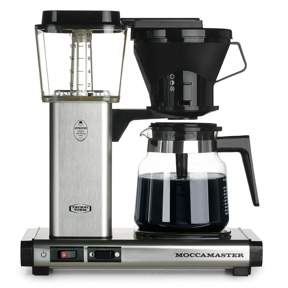 KB Brushed Silver Best coffee maker, Coffee maker