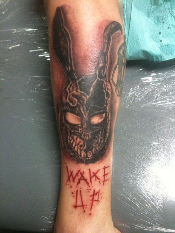 Znalezione obrazy dla zapytania donnie darko rabbit tattoo ...