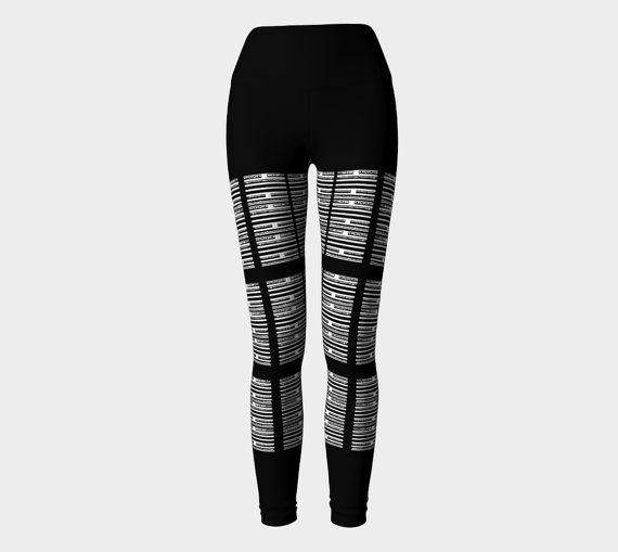 Ko/Revolution I Ching Leggings (wide waistband)