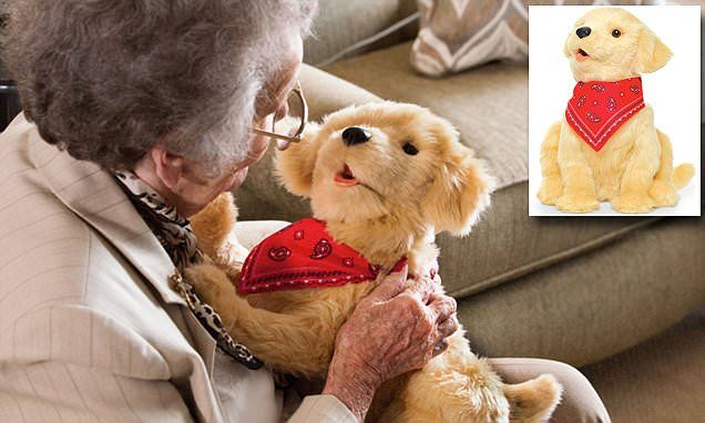Hasbro Unveils Life Like Robot Puppy To Keep The Elderly Company