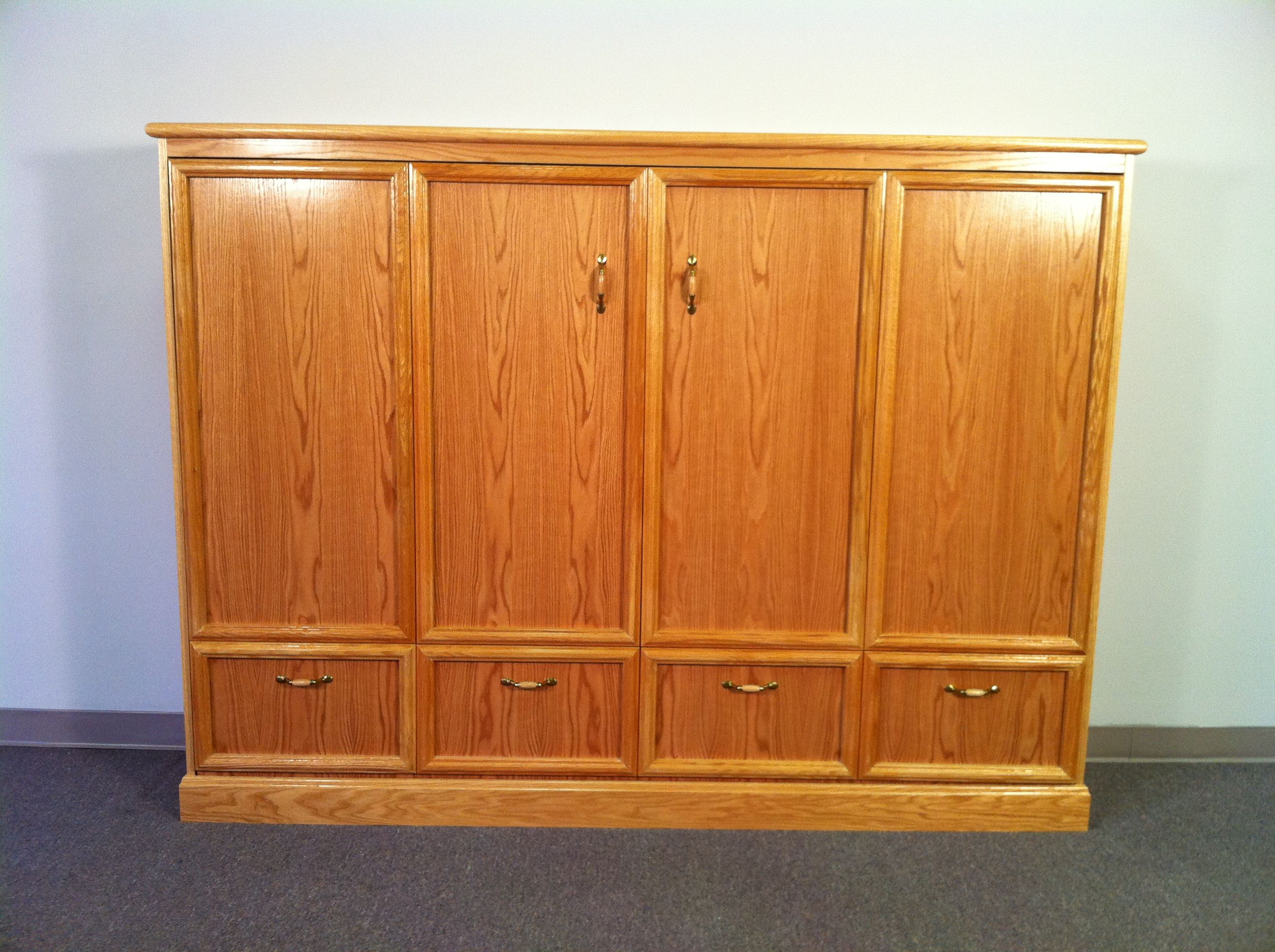 Deluxe Kit Horizontal FULL size murphy bed. Horizontal