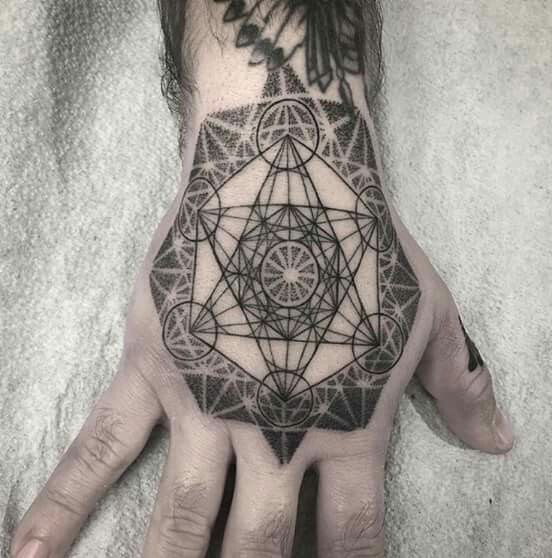 #tattoo #tatouage #ink #hand #black