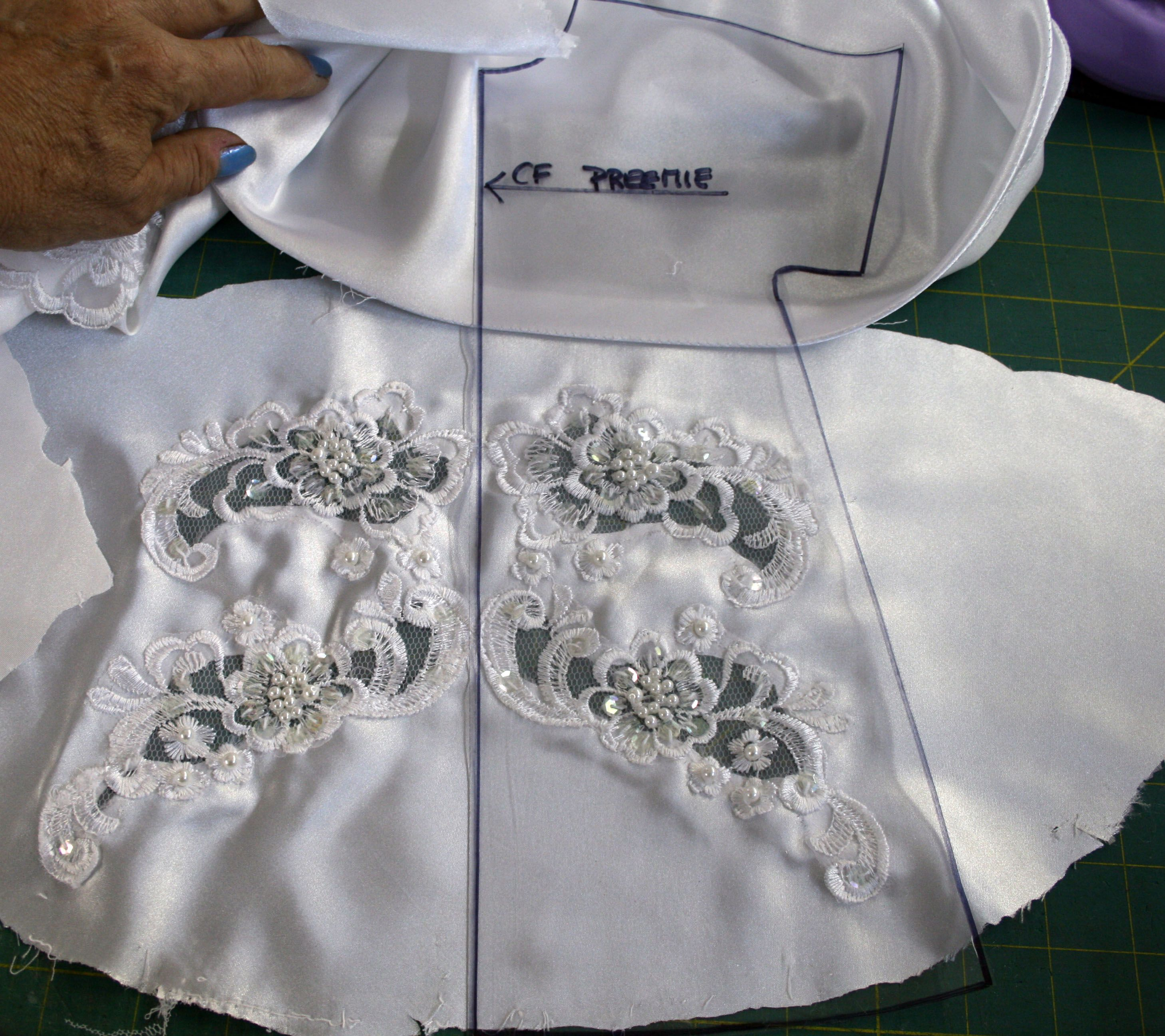 Angel Gown Update: using Clear Patterns | 7 Pine Design | Angel ...