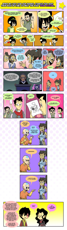 LoK: Team Avatar Meets Team Avatar by Neodusk.deviantart.com on @DeviantArt