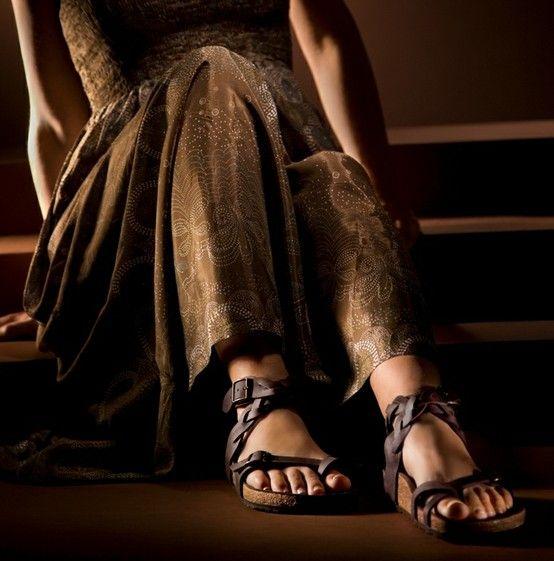 Zdravotní obuv Birkenstock Tatami Vogue Yara - Habana-hnědá / přírodní kůže  více na: