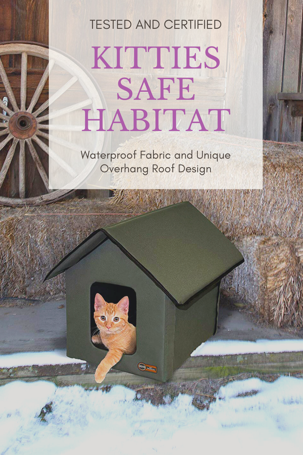 Outside Cat House Outside Cat House Heated Cat House Outdoor Cat Shelter