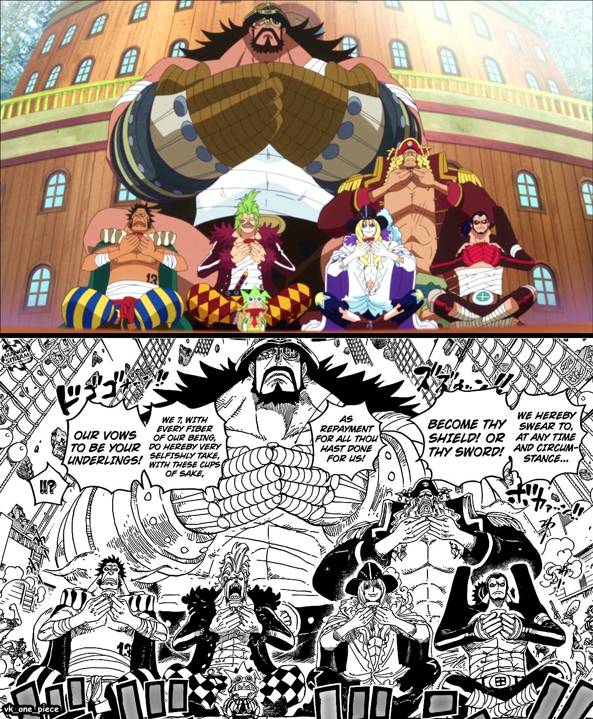 """One Piece- one if my favourite scenes ("""":"""