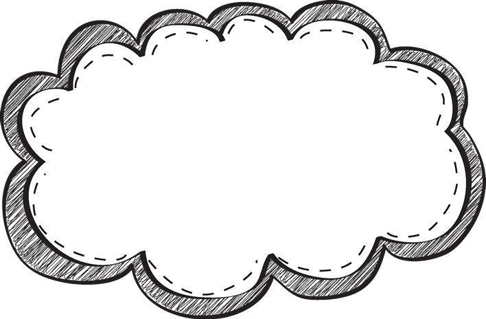 black and white frame clipart for JdG Page borders, Frame