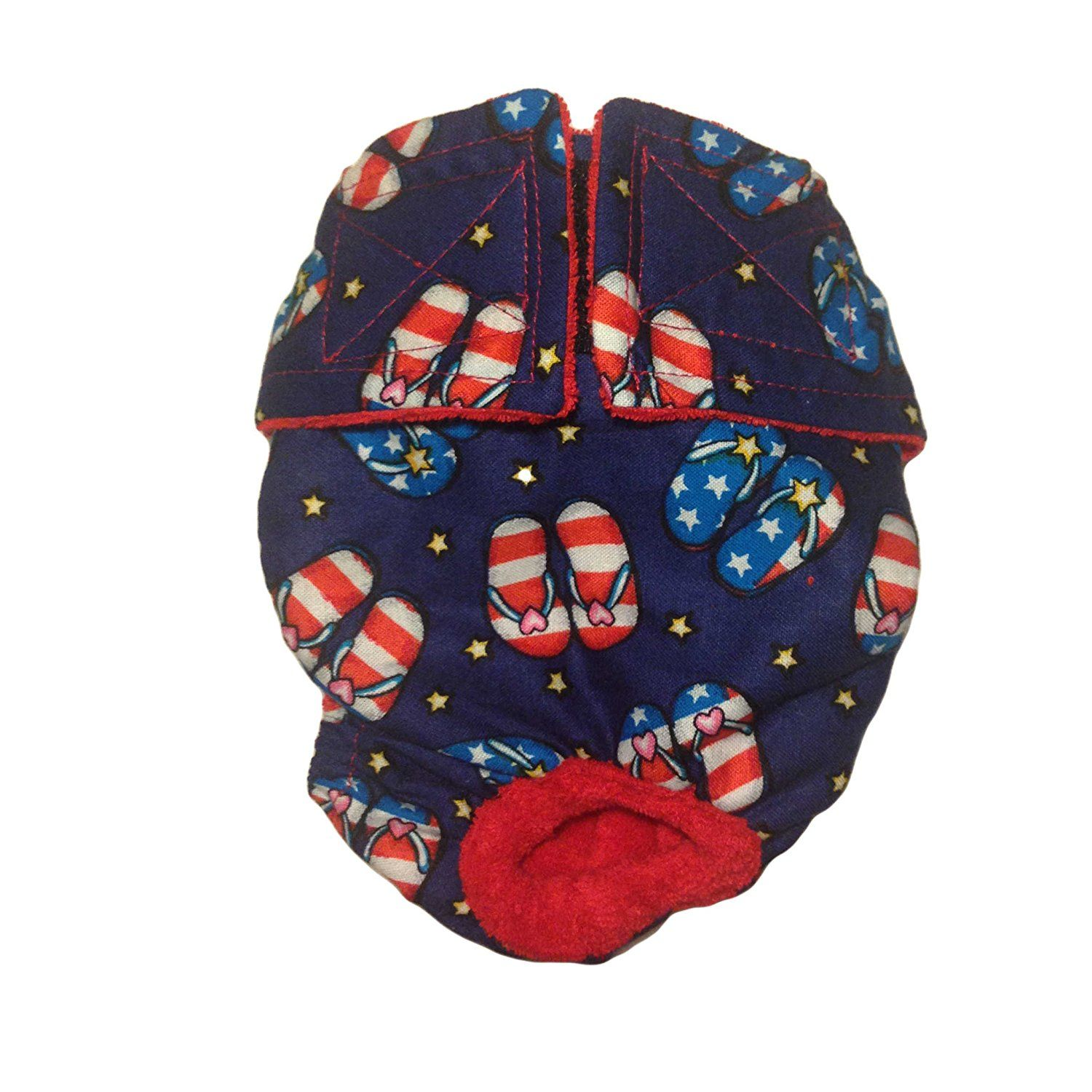 Cat Diapers Made in USA Patriotic Sandals Washable Cat