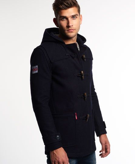 Superdry Rookie Duffle Coat | Fashion | Pinterest | Mens sale