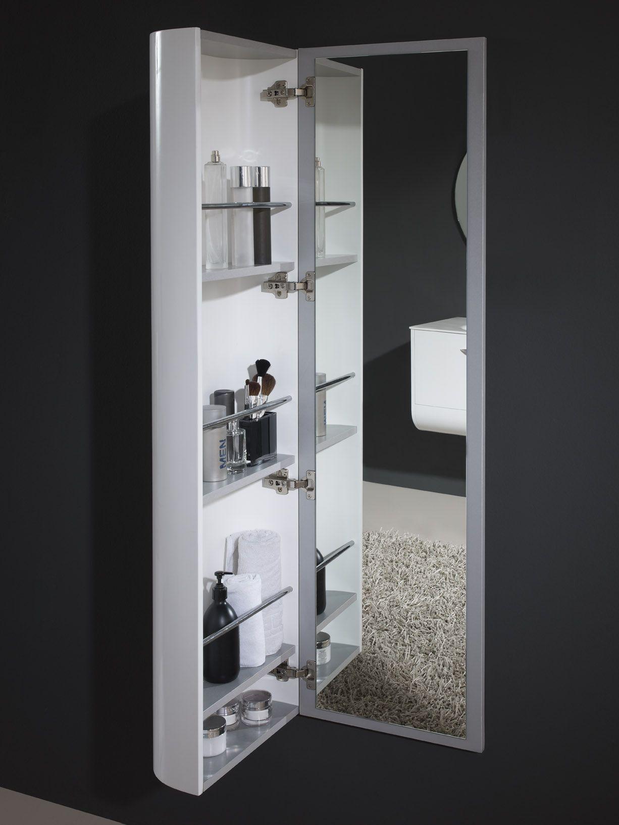 armario para baño con espejo interior   Muebles de baño   Pinterest ...
