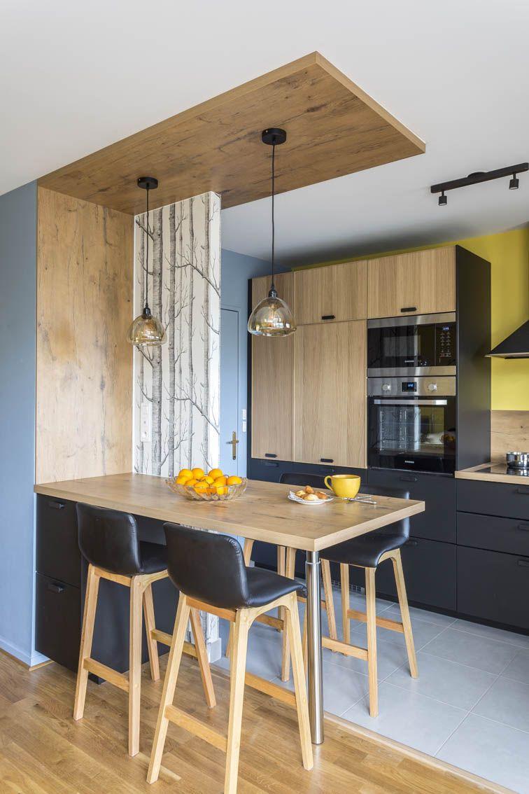 Fresh Idee Deco Mur Cuisine Ouverte