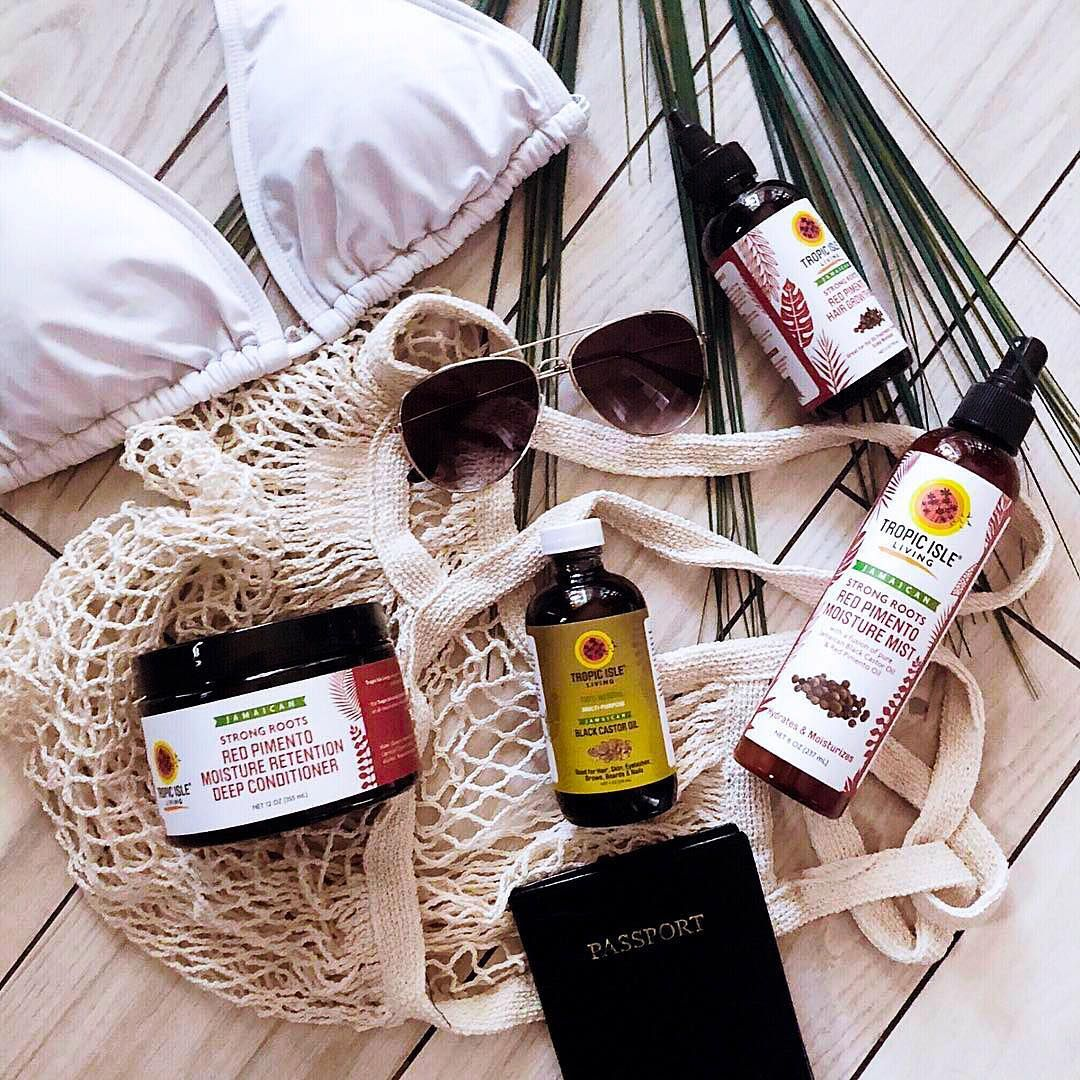 """Tropic Isle Living® on Instagram: """"If you love #JamaicanBlackCastorOil and you are looking for a BOOST in your #hairgrowth journey, you'll LIVE for our #StrongRootsRedPimento…"""""""