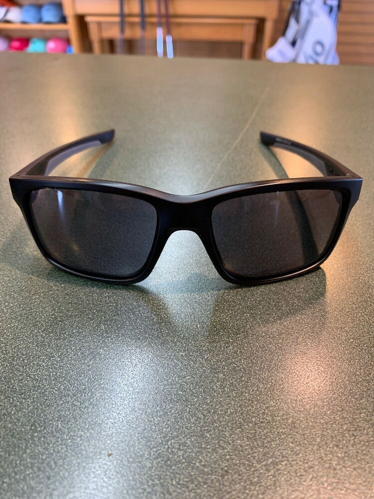 12748c9cae933 NEW Oakley Mainlink Sunglasses- OO9264-01- Matte Black Frame With Grey Lens
