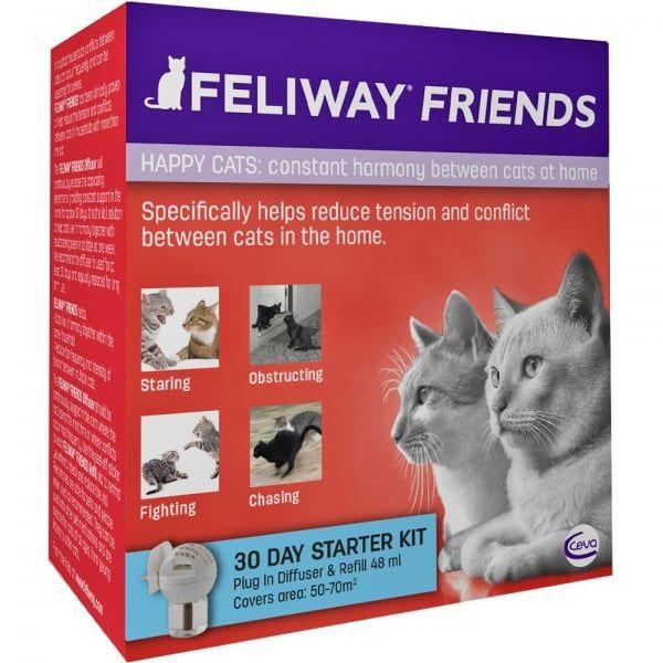 Feliway Friends Plug In Diffuser Starter Kit Buy Online Cat Help Cat Health Care Pet Meds