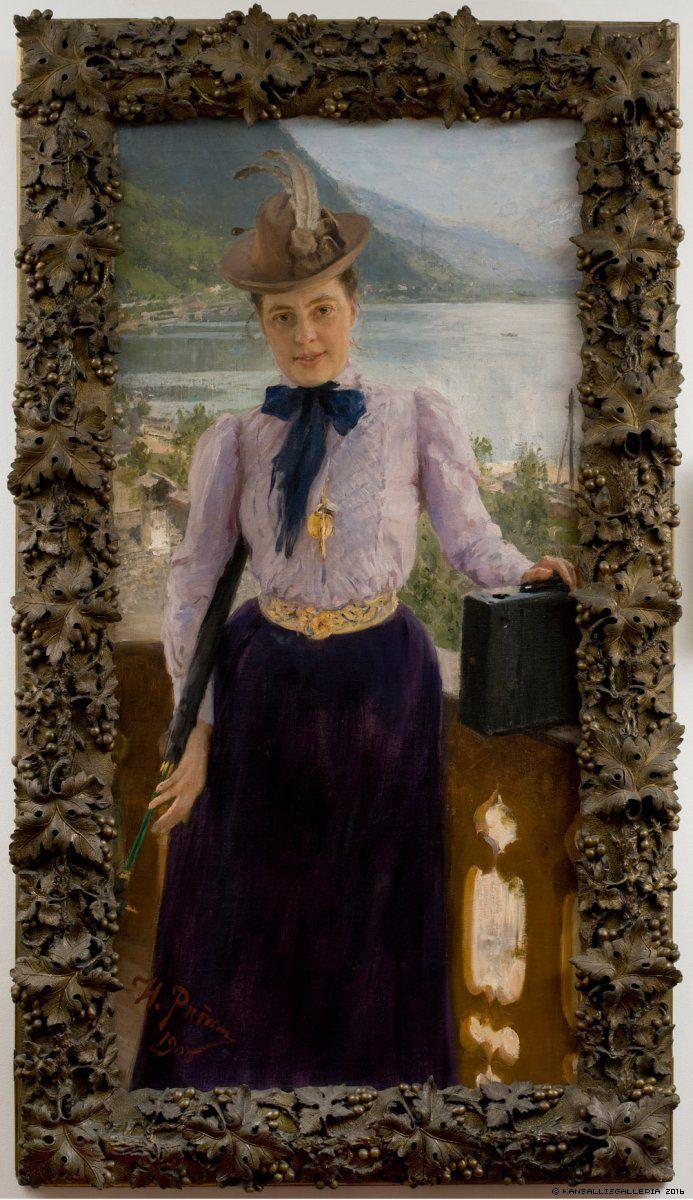Kansallisgalleria - Taidekokoelmat - Natalia Nordmannin muotokuva