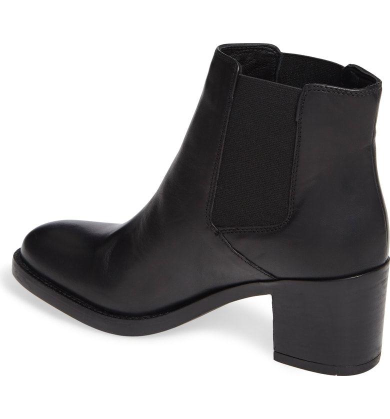 1c9808e1038 Mascarpone Bay Chelsea Boot, Alternate, color, Black Leather   Work ...