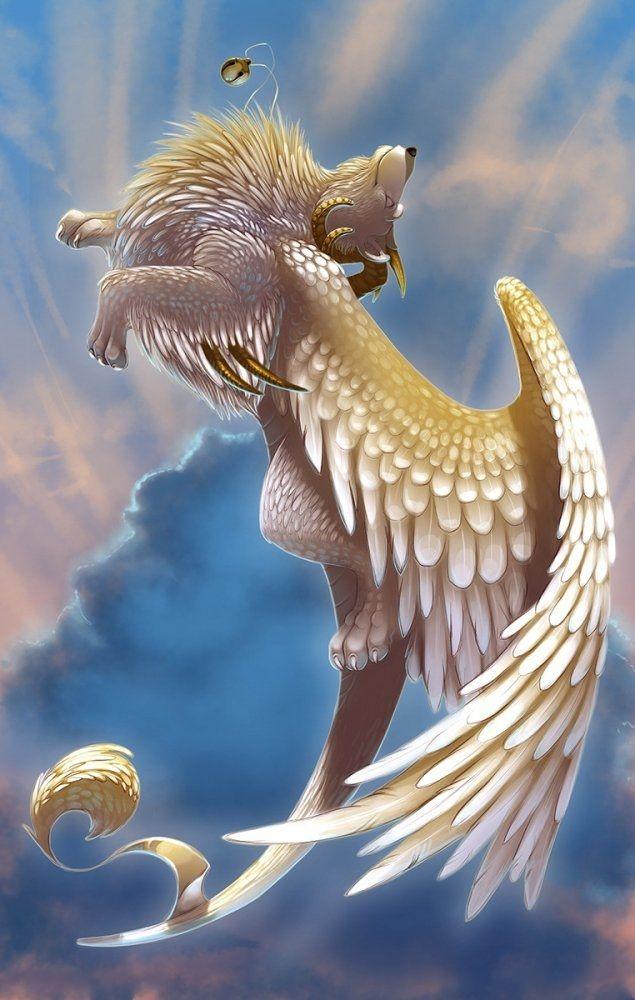 Картинки животные с крыльями