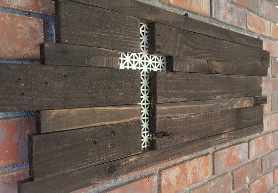 Wall Cross Spring Decor Wooden Cross Wall Decor Wooden Cross