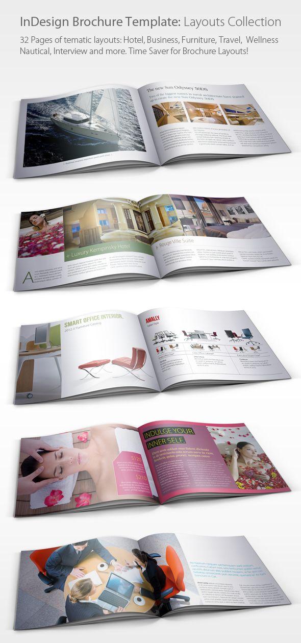 Indesign Brochure Layouts By Nikola Kumburovic Via Behance