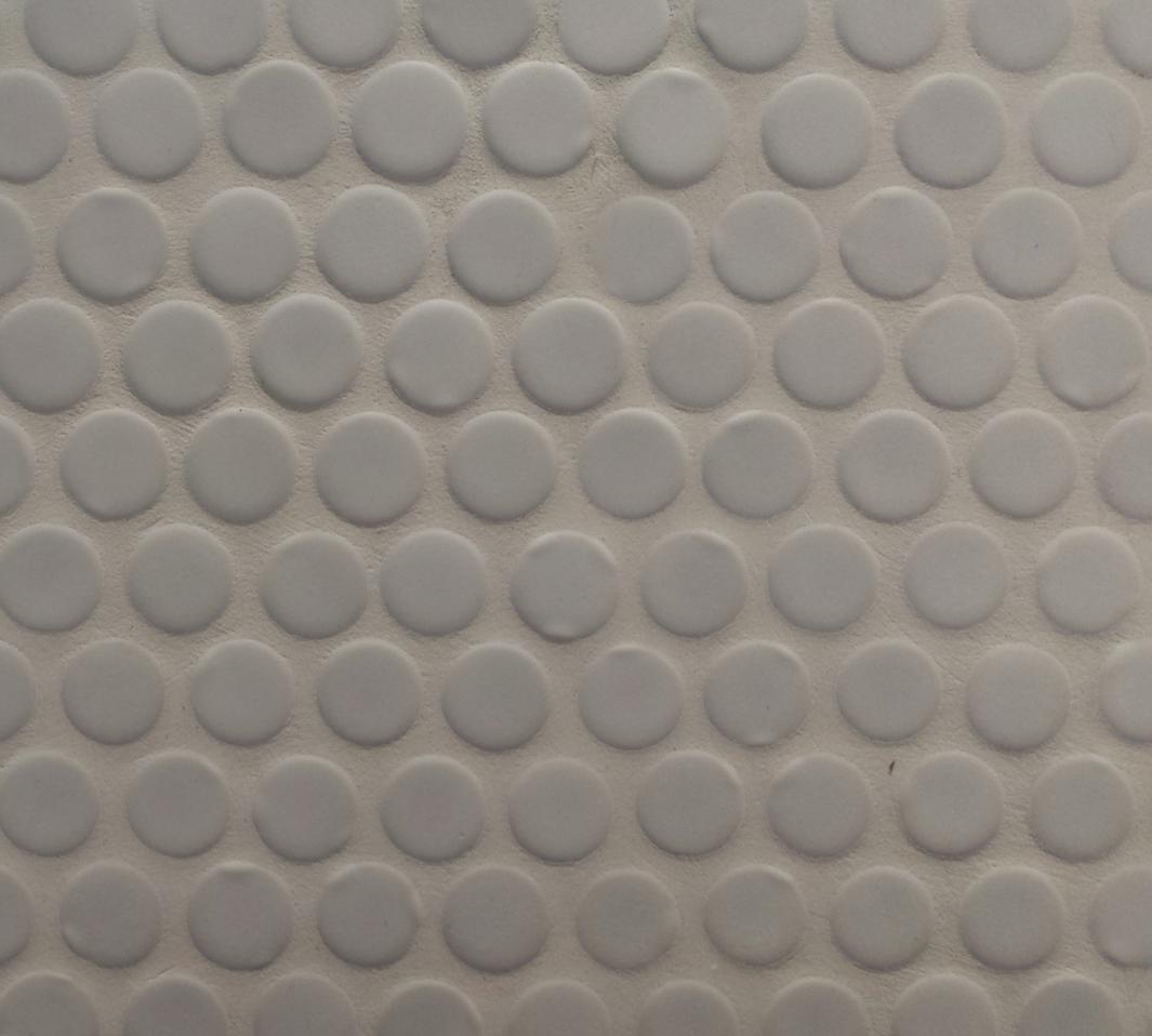 mosaico a cerchi - ceramica