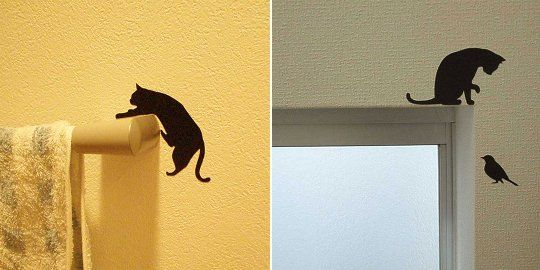 Wall Story Cat Life Removable Stickers | Cameo | Pinterest | Cat life